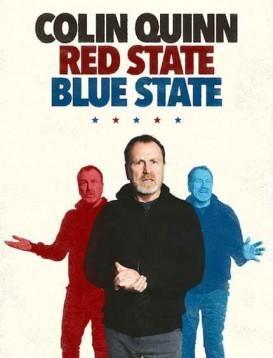 柯林·奎恩:红州蓝州海报