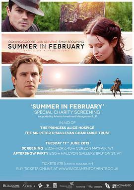 二月之夏 电影海报