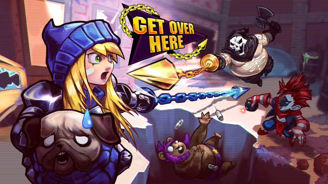 到这儿来(Get Over Here)插图5