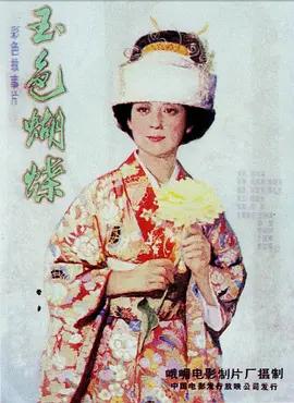 玉色蝴蝶海报