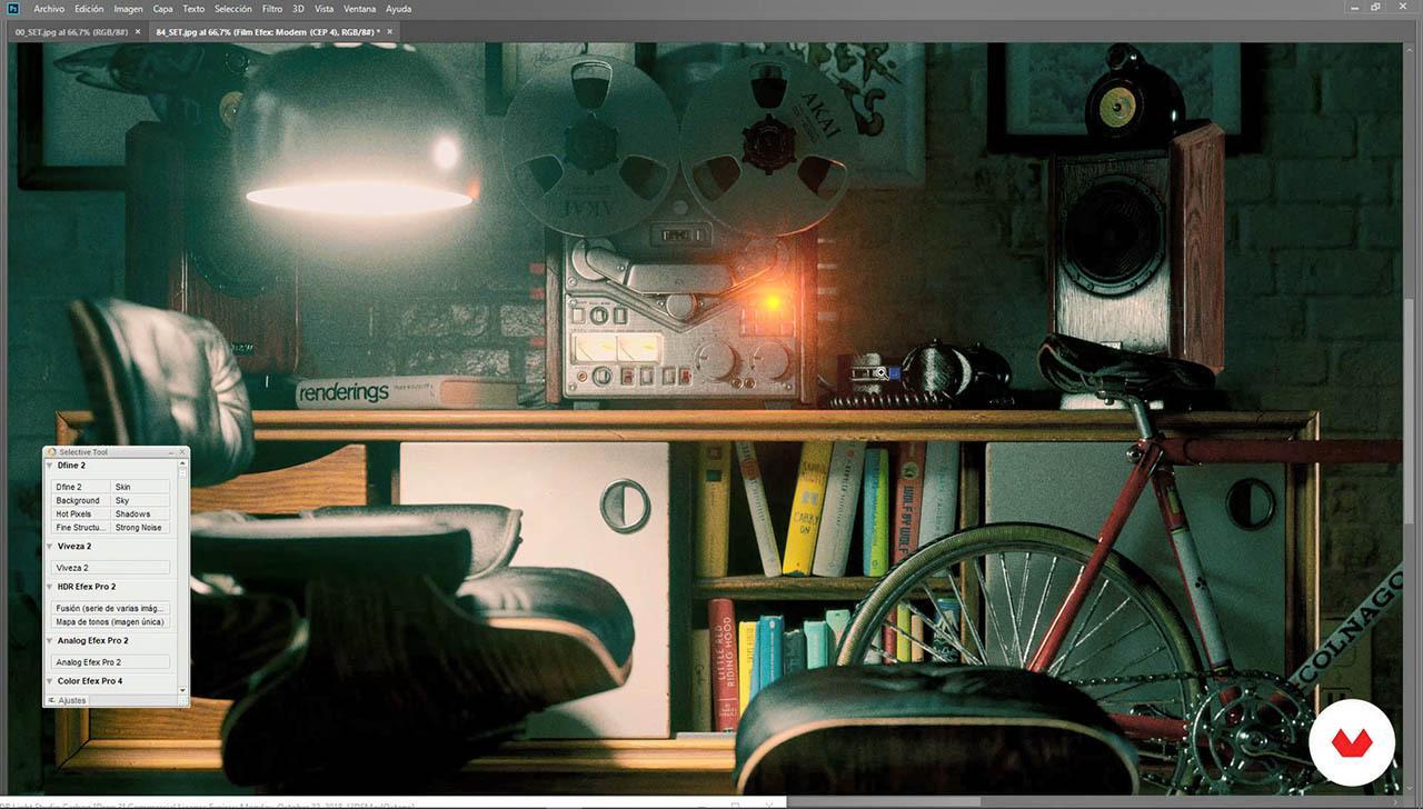 Design of Miniature CGI Sets in 3DS Max – Domestika