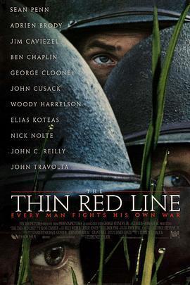 细细的红线/狂林战曲 电影海报