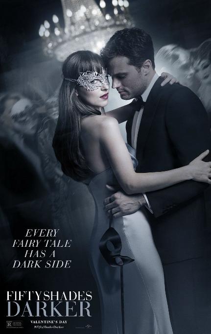 五十度黑 电影 2017海报