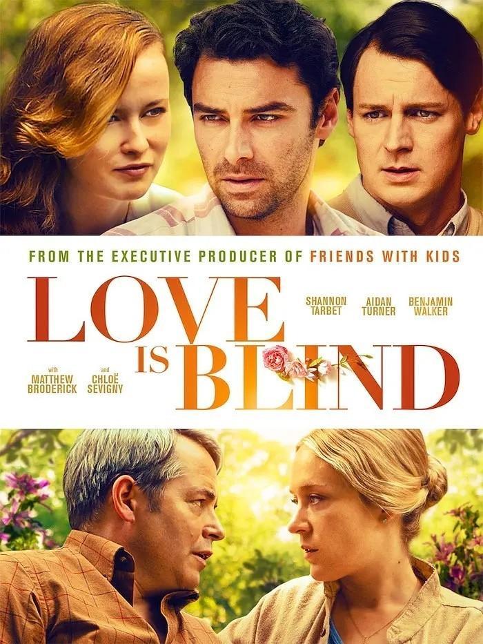 爱是盲目海报