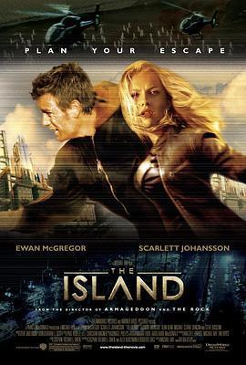 逃出克隆岛 电影海报