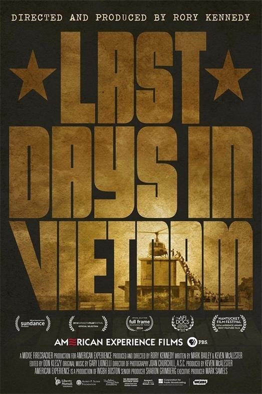 在越南最后的日子 电影海报