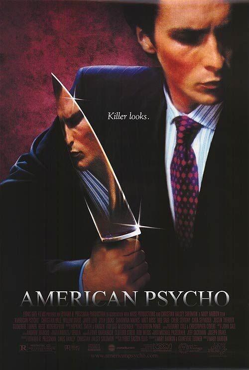 美国精神病人 电影海报