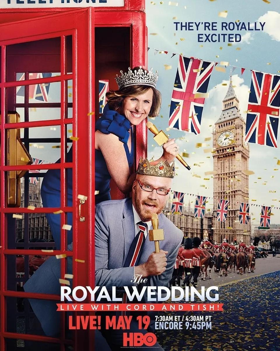 科德和蒂什带你看皇家婚礼海报