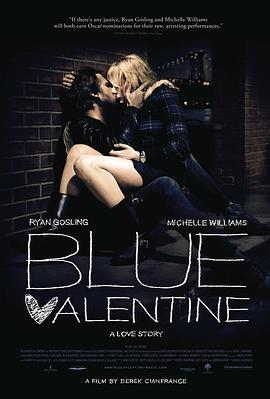 蓝色情人节 电影海报