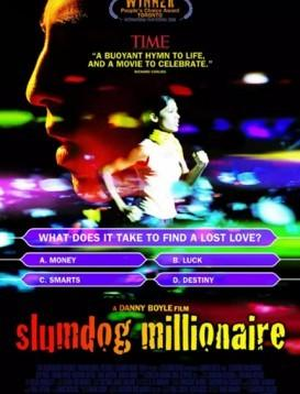 贫民窟的百万富翁 Slumdog Millionaire 电影海报