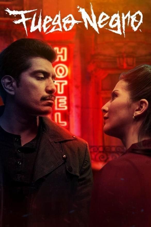 黑暗旅店海报