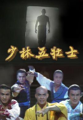 少林五壮士海报