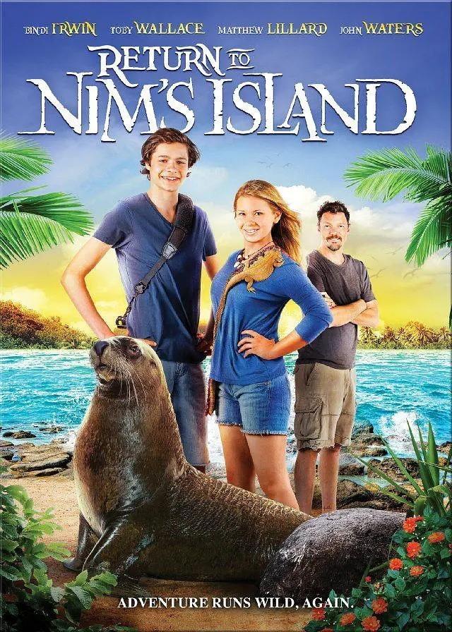 重返尼姆岛海报