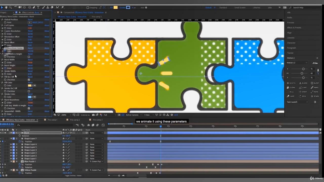 Making a Flat Motion Graphics Project 扁平化图形MG动画AE教程