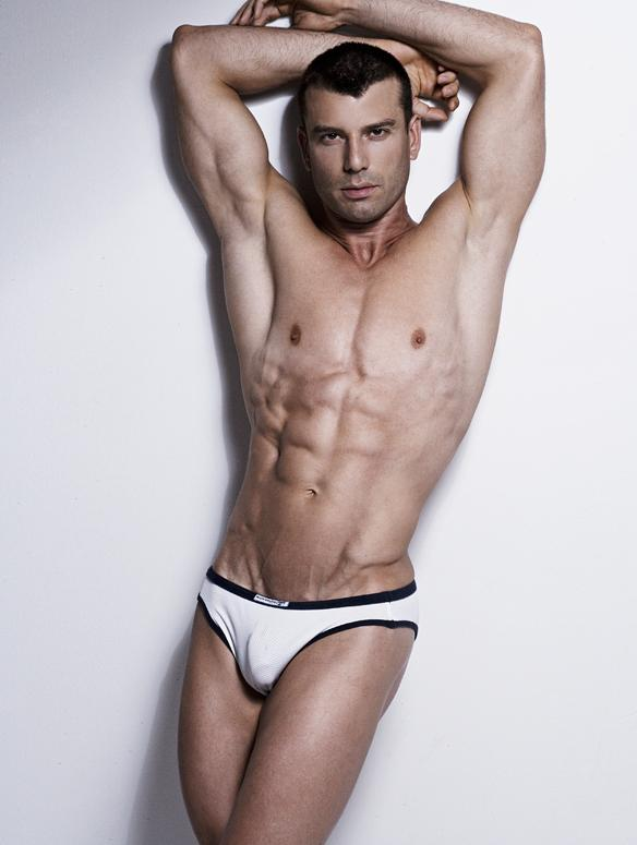 欧美法国肌肉男模Stephane Haffner